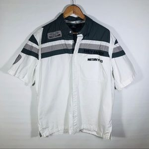 Harley Davidson Short Sleeve Button up Shirt